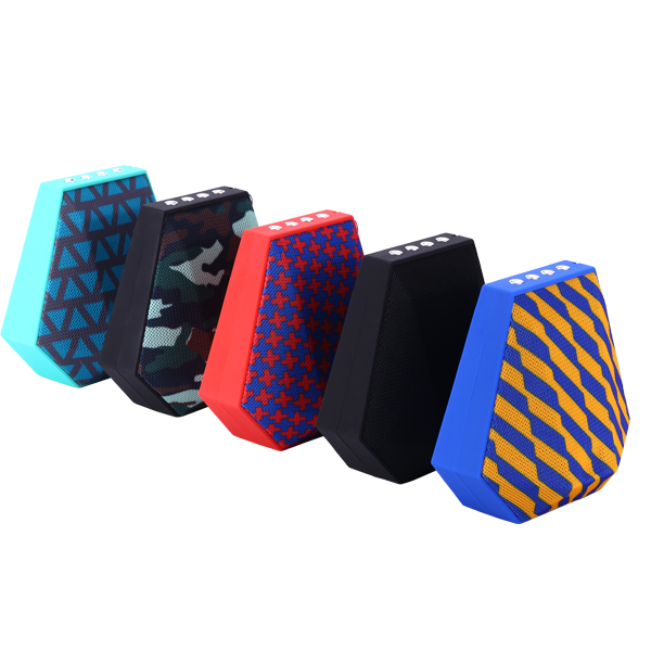 New Style Cloth Fabric Rechargeable wireless Bluetooth speaker